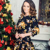 Стильные новогодние прически в Москве