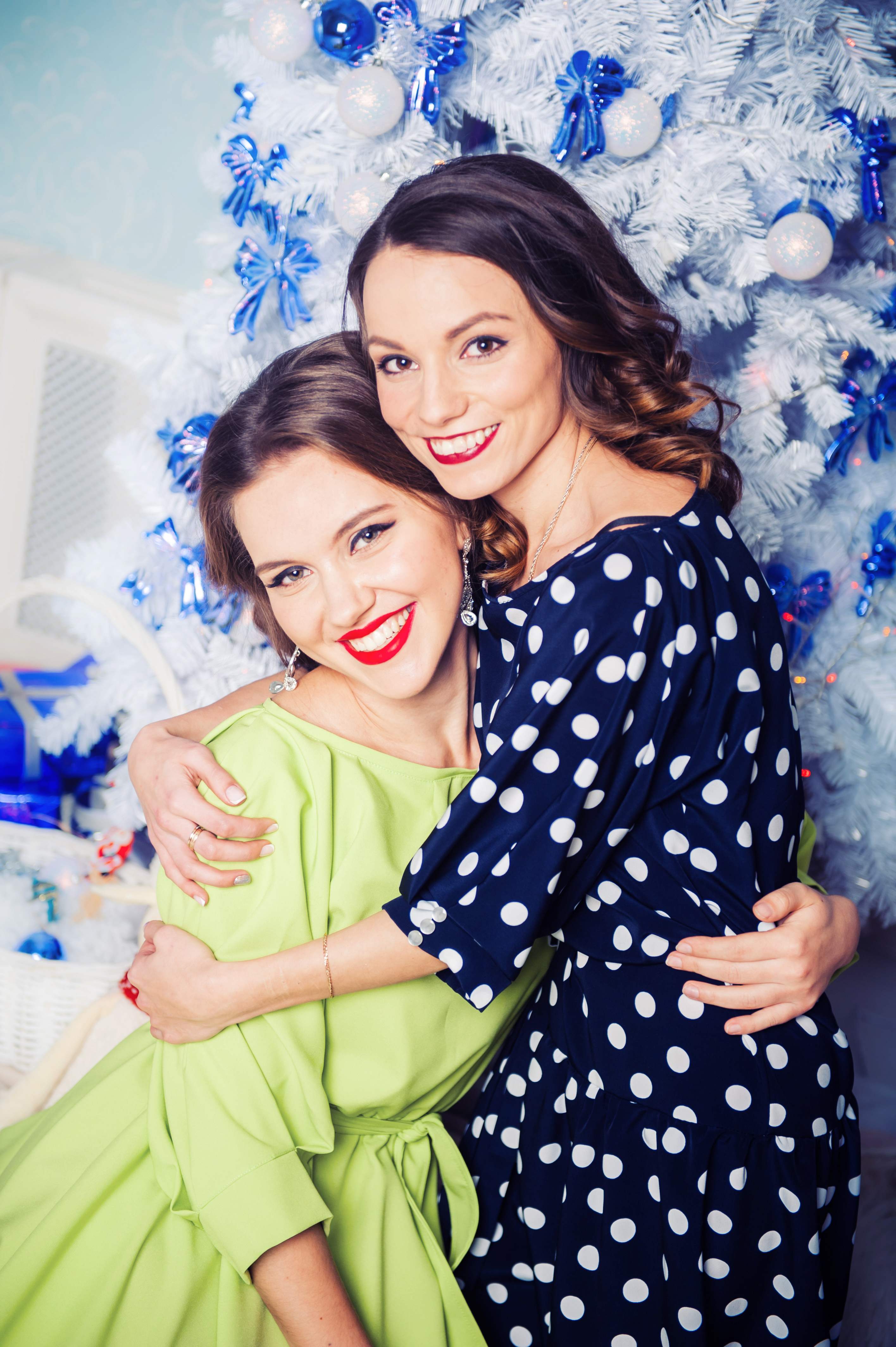 Стильные прически на Рождество в Москве