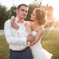 Свадьба Марго и Владимира. Стильные свадебные прически в Москве
